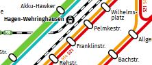 Interaktiver Netzplan Hagen