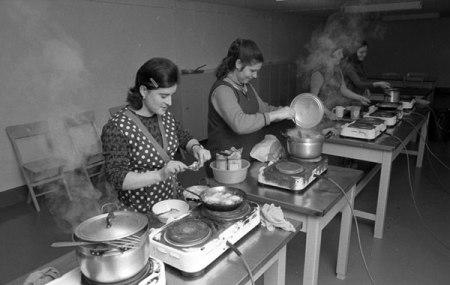 Gastarbeiterinnen-Unterkunft