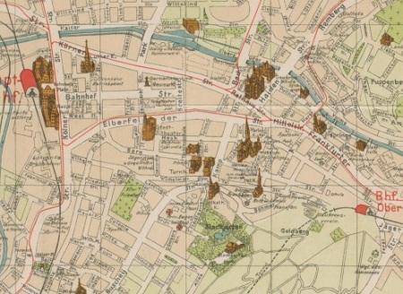 Stadtplan Hagen 1913 teaser