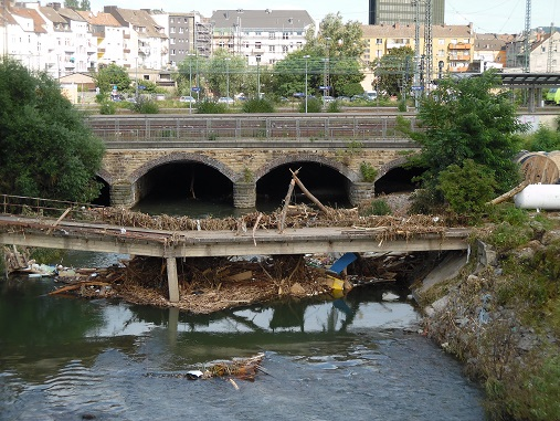 Westside Volme nach der Flut