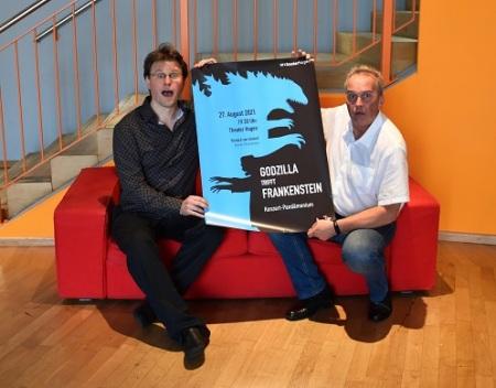 Joseph Trafton und Richard van Gemert