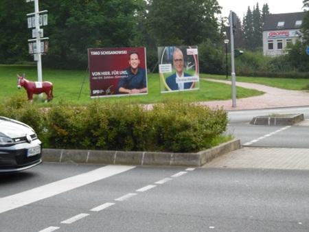 Plakate SPD CDU