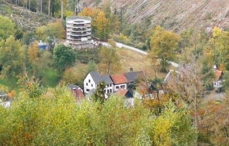 Richtfest Windmühle Freilichtmuseum